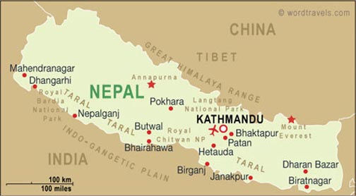 Christianity In Nepal Exhibit Yale Divinity School Library - What country is nepal in